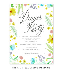 EXCLUSIVE INVITATIONS