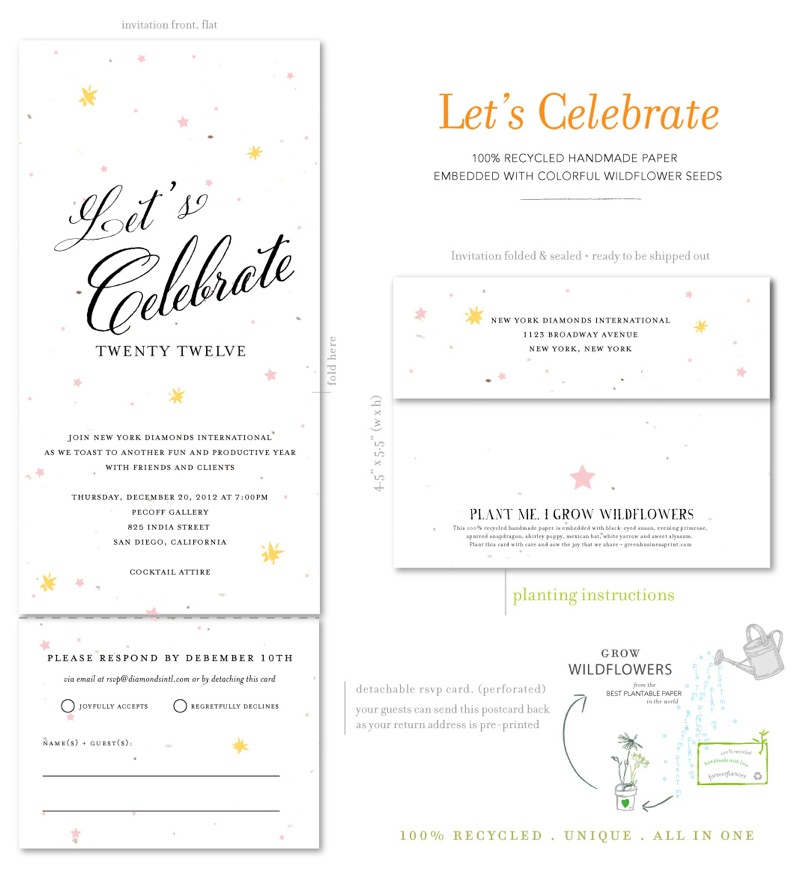 Holiday Party business Invitations