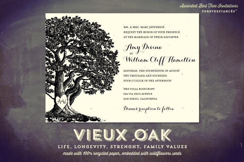 Vieux Oak Invitation