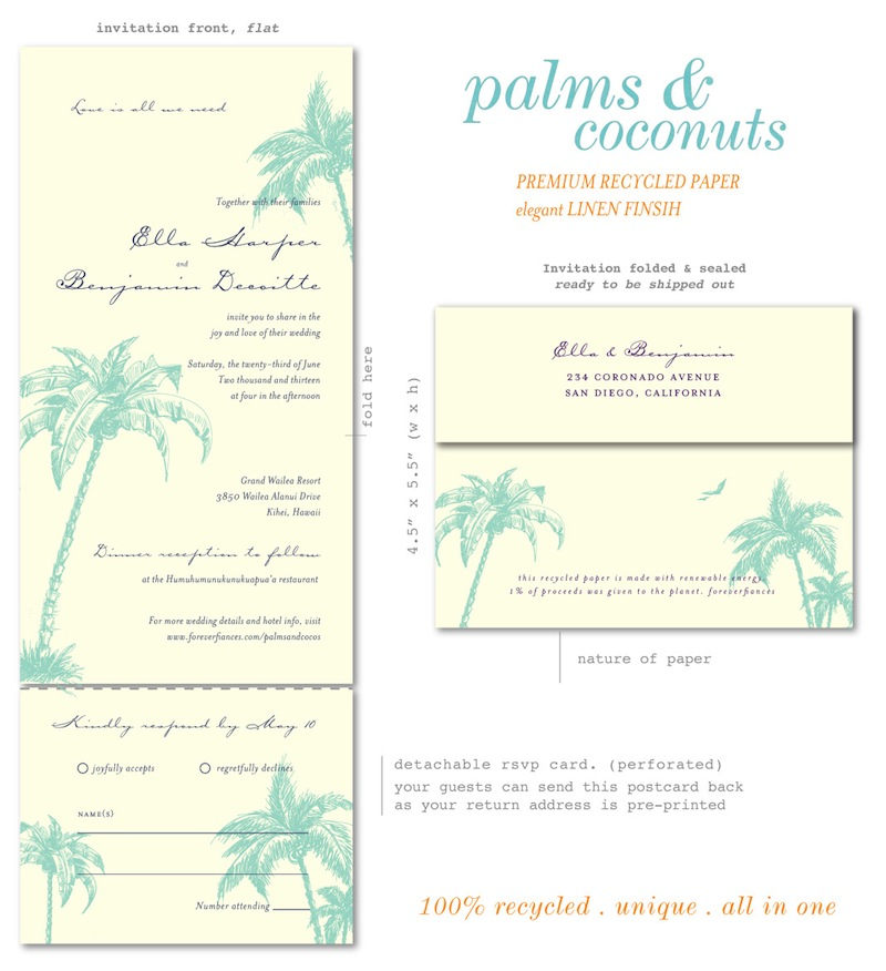 Palms & Coconuts - All in One