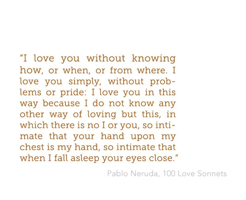Pablo Neruda death poems