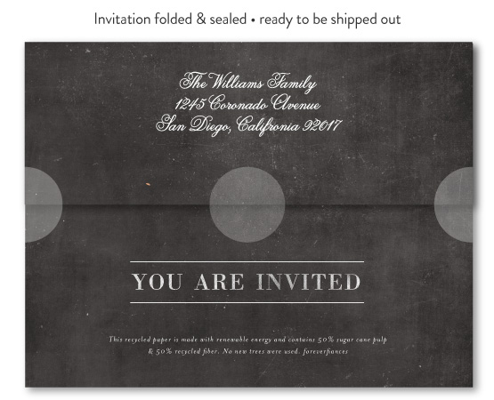 how to seal invitations