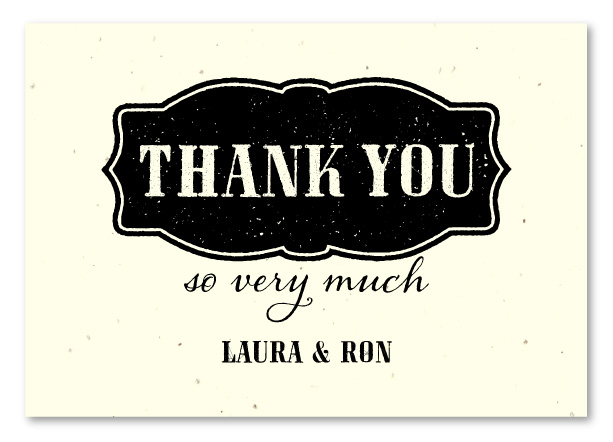 western thank you notes
