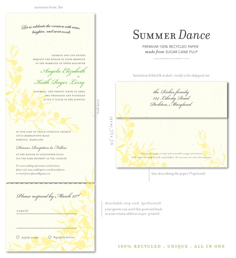 Summer Dance natural white Recycled