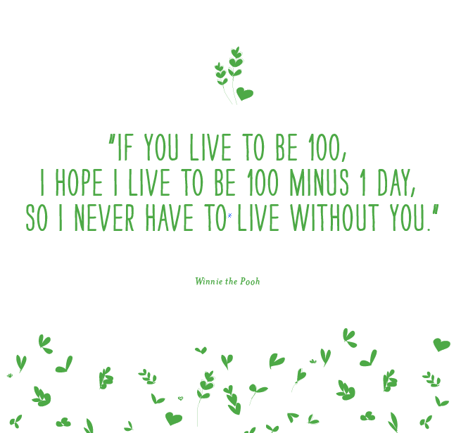 Winnih the Pooh love quote